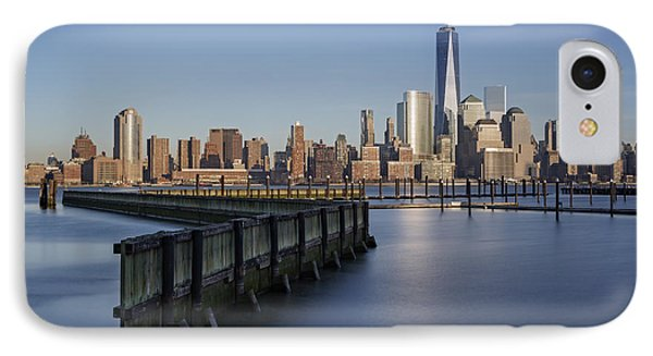 New York City Financial District Phone Case by Susan Candelario
