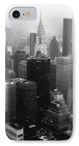 New York City - Fog And The Chrysler Building IPhone Case by Vivienne Gucwa
