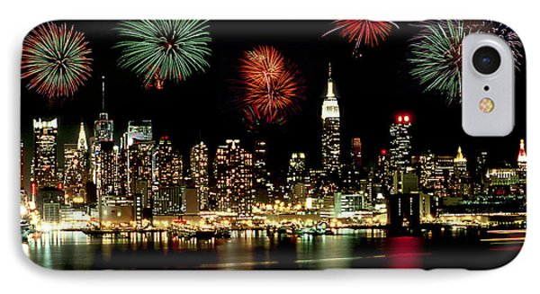 New York City Fourth Of July Phone Case by Anthony Sacco