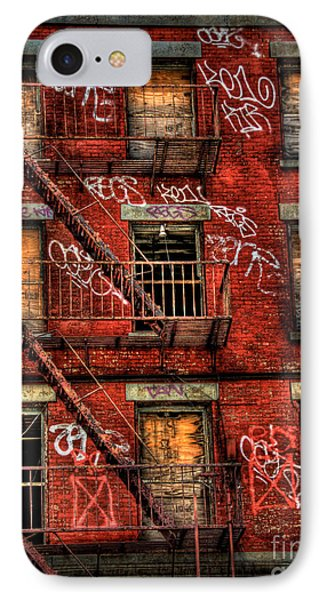 New York City Graffiti Building Phone Case by Amy Cicconi
