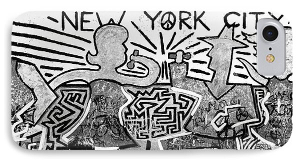 IPhone Case featuring the photograph New York City Graffiti by Dave Beckerman