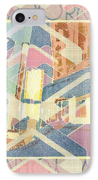 New York City In Pastel Tones - Times Square IPhone Case