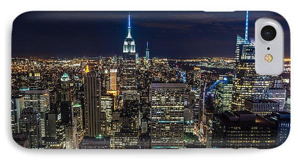 New York City IPhone Case by Larry Marshall