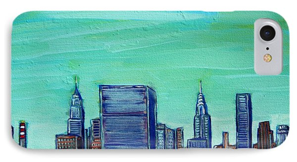 New York City Midtown Phone Case by Mitchell McClenney