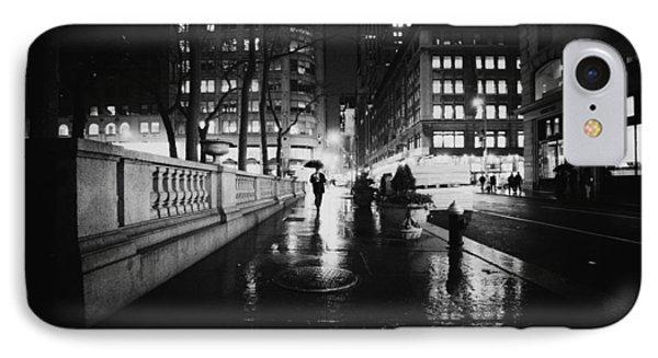 New York City - Night Rain Phone Case by Vivienne Gucwa