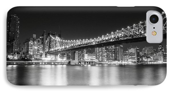 New York City - Queensboro Bridge At Night Phone Case by Vivienne Gucwa