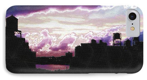New York City Rooftops Phone Case by Tony Rubino