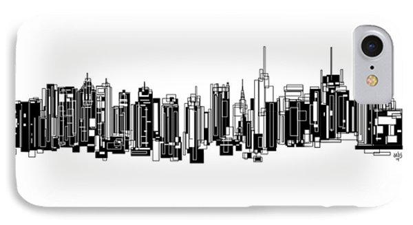 New York City IPhone Case by Sheep McTavish