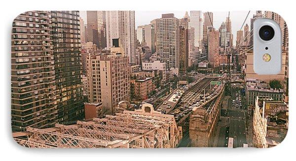 New York City Skyline - Above The City Phone Case by Vivienne Gucwa