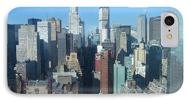 IPhone Case featuring the photograph New York City Skyline by Dora Sofia Caputo Photographic Art and Design