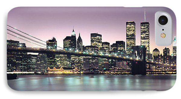 New York City Skyline IPhone 7 Case by Jon Neidert