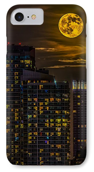 New York City Super Moon IPhone Case