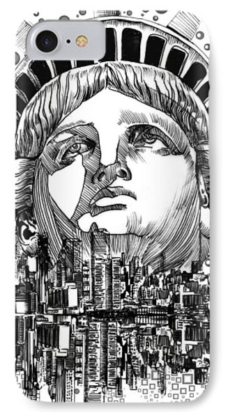 New York City Tribute IPhone Case
