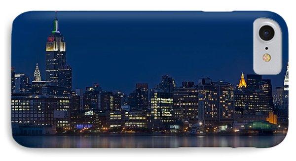 New York City Twilight IPhone Case by Susan Candelario