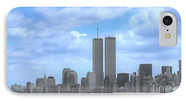 New York City Twin Towers Glory - 9/11 IPhone Case