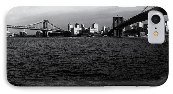 New York City - Two Bridges Phone Case by Vivienne Gucwa