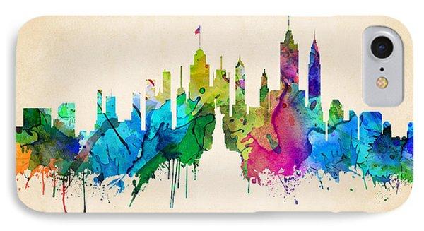 New York Cityscape IPhone Case