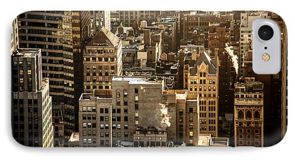 New York Cityscape Phone Case by Vivienne Gucwa