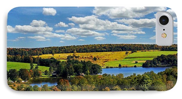 New York Countryside Phone Case by Christina Rollo