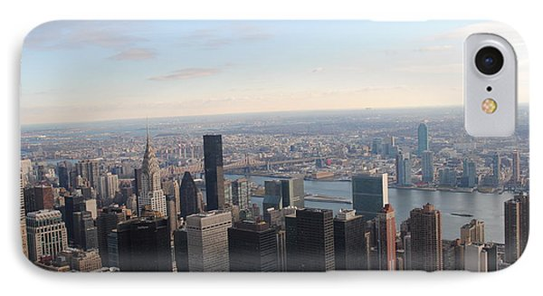 New York East IPhone Case by Robert  Moss