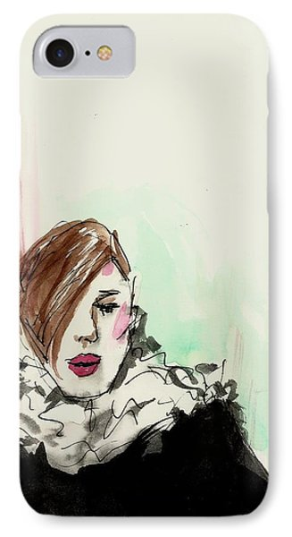 New York Fashion Week IPhone Case by P J Lewis