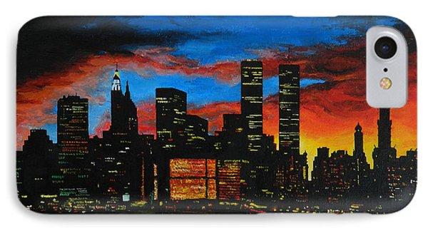 New York In The Glory Days IPhone Case by Alexandru Rusu