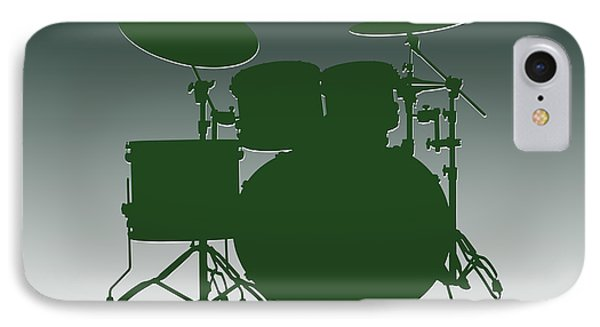 New York Jets Drum Set IPhone Case by Joe Hamilton