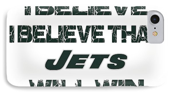 New York Jets I Believe IPhone Case