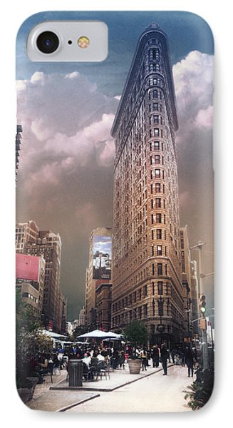 IPhone Case featuring the photograph New York by John Rivera