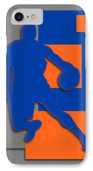 New York Knicks Art IPhone Case by Joe Hamilton