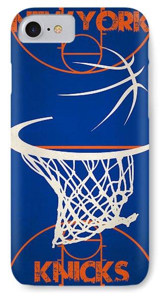New York Knicks Court IPhone Case by Joe Hamilton