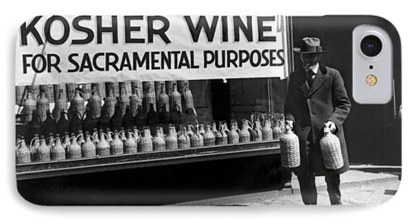 New York Kosher Wine For Sale IPhone Case by Underwood Archives