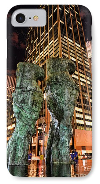 New York - Looking Toward The Avenue Phone Case by Paul Ward