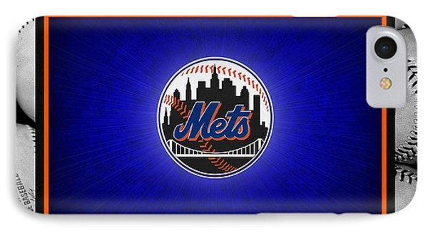New York Mets Phone Case by Joe Hamilton