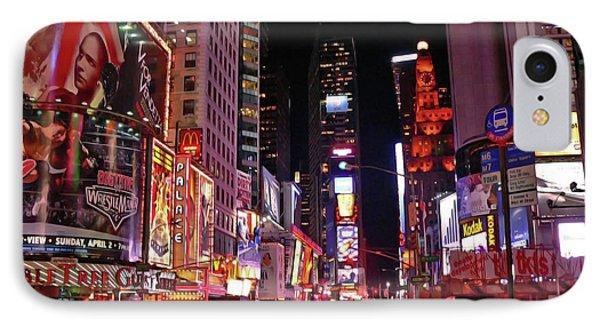 New York New York Phone Case by Angela Wright