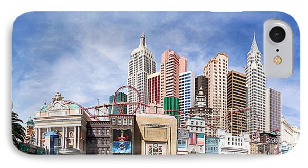 New York New York Las Vegas Phone Case by Jane Rix