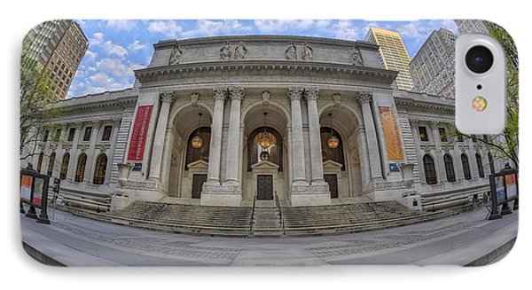 New York Public Library - Nypl IPhone Case by Susan Candelario