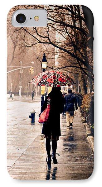 New York Rain - Greenwich Village Phone Case by Vivienne Gucwa