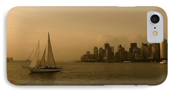 New York Sailing Phone Case by Avis  Noelle