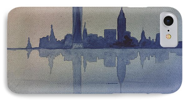 New York Skyline  IPhone Case by Donna Walsh