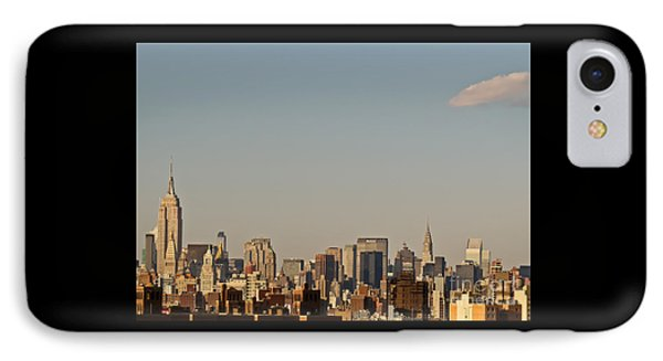 IPhone Case featuring the photograph New York City Skyline by Kerri Farley