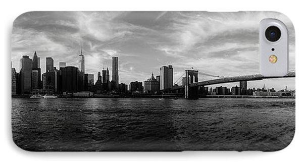 New York Skyline IPhone 7 Case by Nicklas Gustafsson