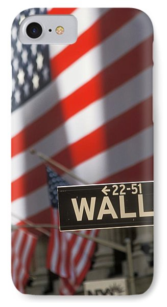 New York Stock Exchange And Wall Street IPhone Case