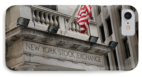 New York Stock Exchange Building Phone Case by Amy Cicconi