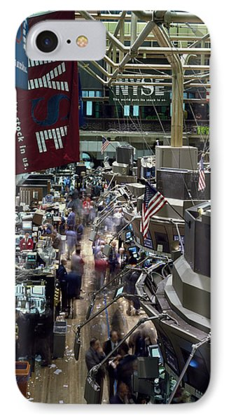 New York Stock Exchange IPhone Case by Mountain Dreams
