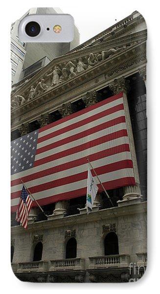 New York Stock Exchange Phone Case by David Bearden