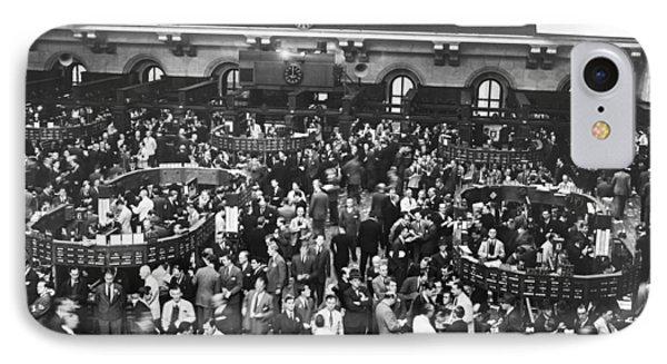 New York Stock Exchange Floor IPhone Case