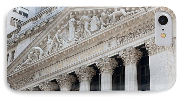 New York Stock Exchange I Phone Case by Clarence Holmes
