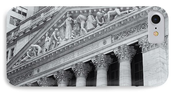 New York Stock Exchange II Phone Case by Clarence Holmes