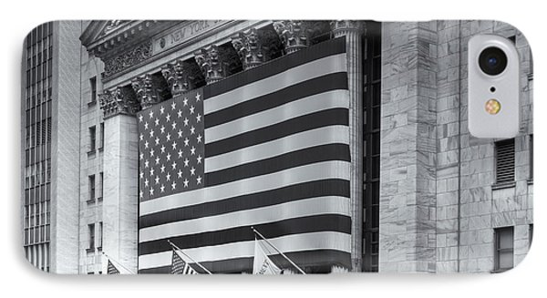 New York Stock Exchange Iv Phone Case by Clarence Holmes